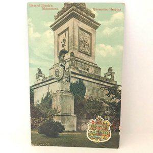 Vintage Postcard Base of Brocks Monument